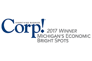 Corp! Michigan Economic Bright Spot Award - 2017